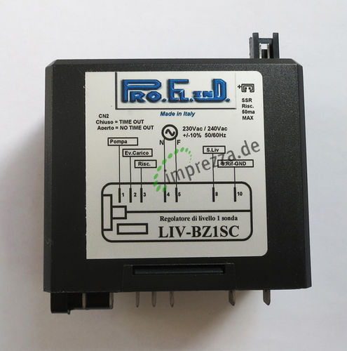Level Regulator 1S 220/240V